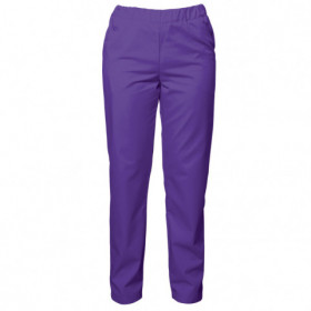 BARISA DARK PURPLE Lady's medical pants 1