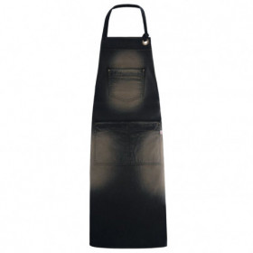 DALLAS BLACK Bib apron