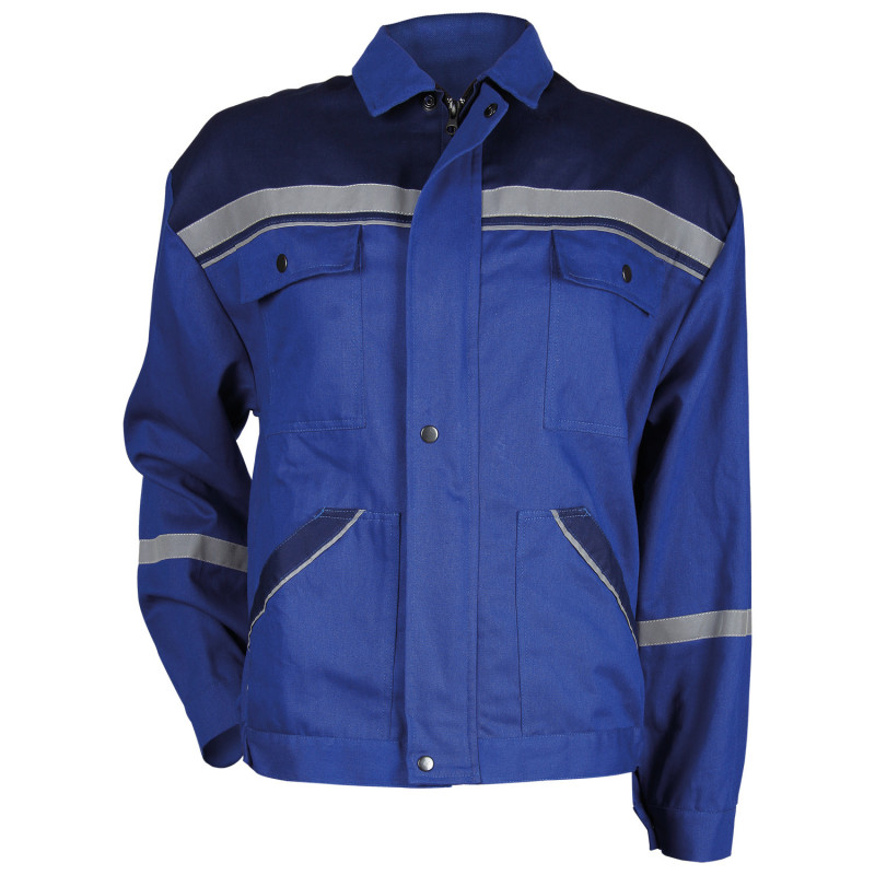 COLLINS SUMMER ROYAL BLUE Work jacket
