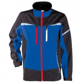 PRISMA ROYAL BLUE Softshell jacket