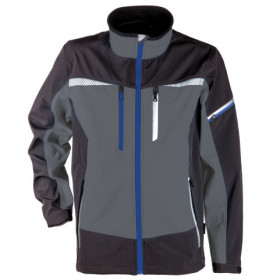 PRISMA GREY Softshell jacket