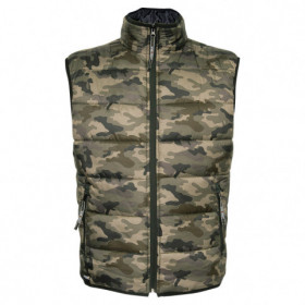 LIGHT KAMO Camouflage vest