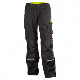 PRISMA BLACK Work trousers