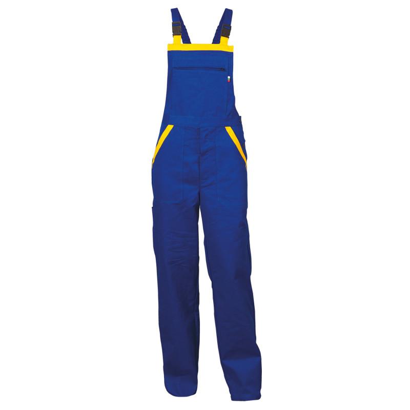 LT2 ROYAL BLUE Work bib pants
