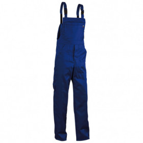 REX-BA ROYAL BLUE Work bib pants