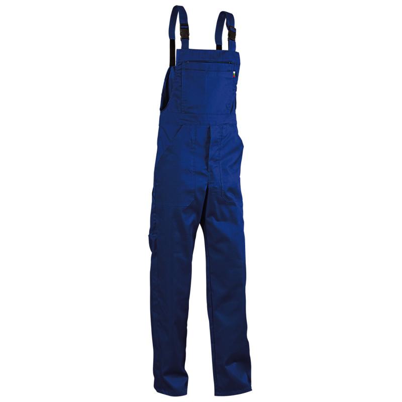 Работен полугащеризон REX-BA ROYAL BLUE