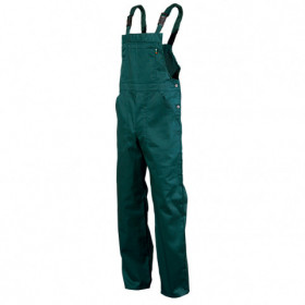 REX-S GREEN Work bib pants