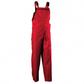REX-S RED Work bib pants