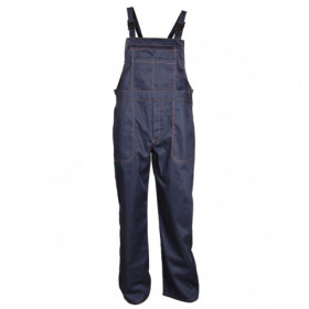 REX-S NAVY Work bib pants