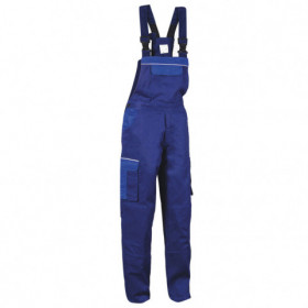 ASIMO BLUE Work bib pants