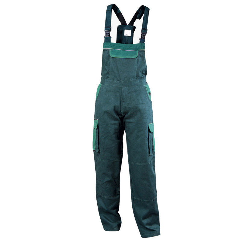 ASIMO GREEN Work bib pants