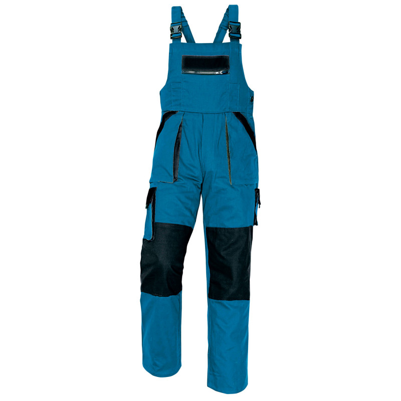 MAX GREEN Work bib pants