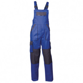 MAX BLUE Work bib pants