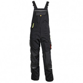 PRISMA BLACK Work bib pants