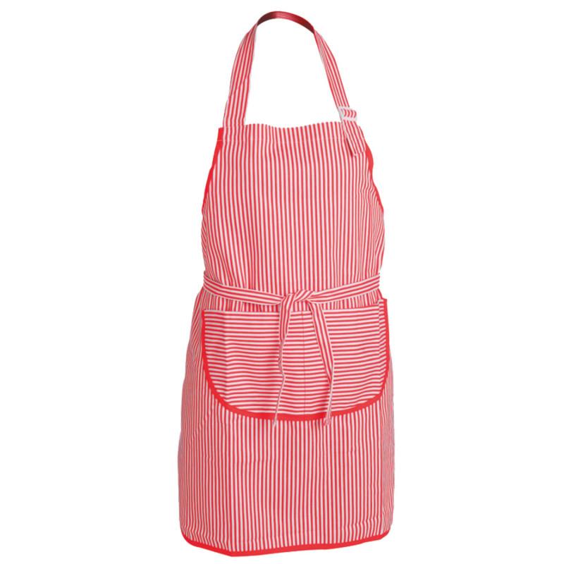 VENUS RED Bib apron