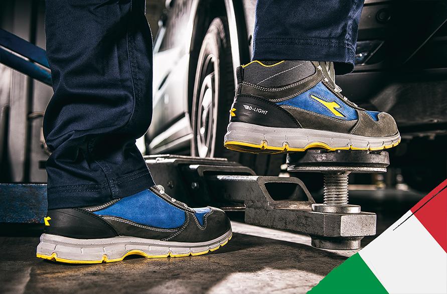 Комфорт и защита за всяка стъпка: работни обувки с иновативна технология от Италия